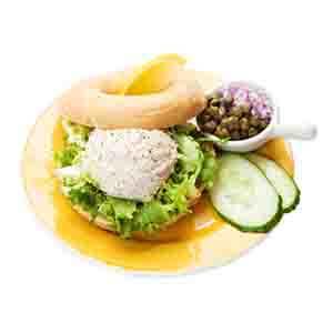 Bagel Tonijnsalade