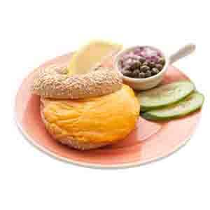 Bagel Tonijnsalade & gesmolten cheddar