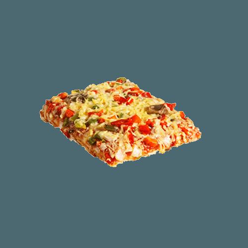 Pizzastuk vegetarisch