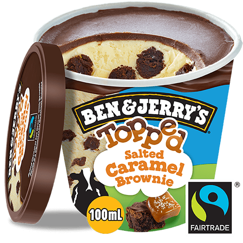 Ben & Jerry's Salted Caramel Brownie Topped