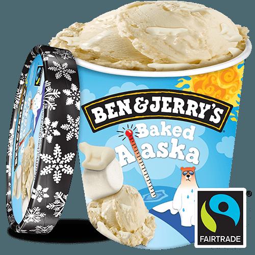 Ben & Jerry Baked Alaska 465ml