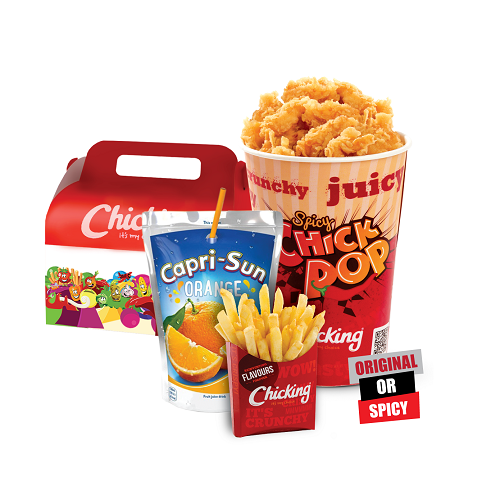Kids meal chick-pop