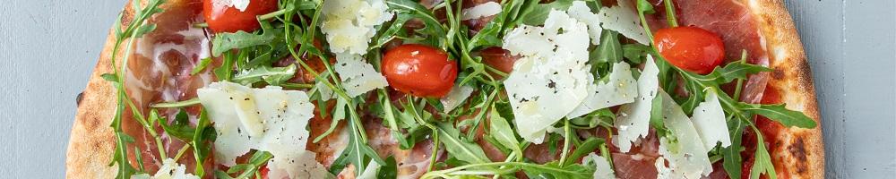 Pizza's (Weekactie: Bij bestelling van twee pizza's, één dessert van het huis!)