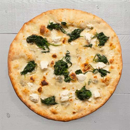 Pizza van de Maand: Cinque Formaggi Con Spinaci