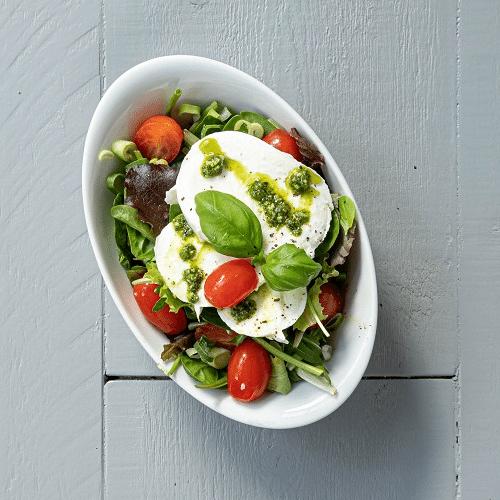 Salade buffelmozzarella