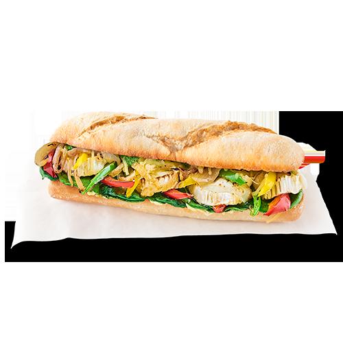 Hot veggi sandwich