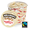 Ben & Jerry's Strawberry Swirled (470ml)
