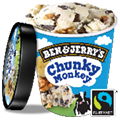 Ben & Jerry's Chunky Monkey (500ml)