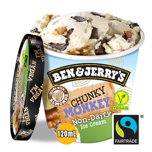 Ben & Jerry's Non-dairy Chunky Monkey (120ml)