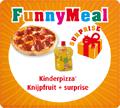 FunnyMeal + Zonnatura Knijpfruit voor Jongens