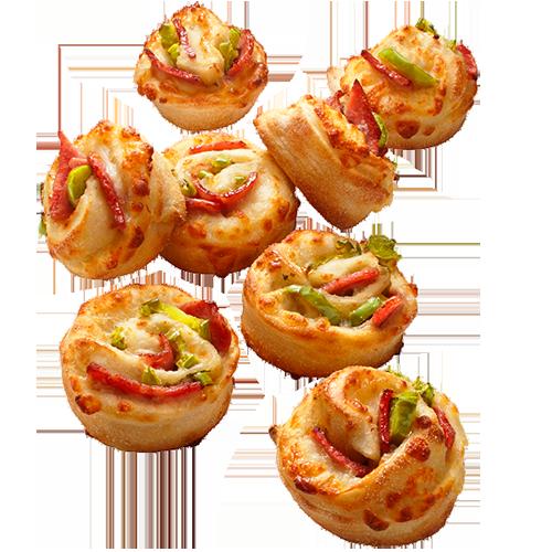 Ham & Jalapeno pizzaroll