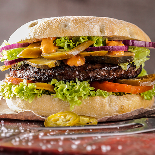 Jalapeno Burger Los