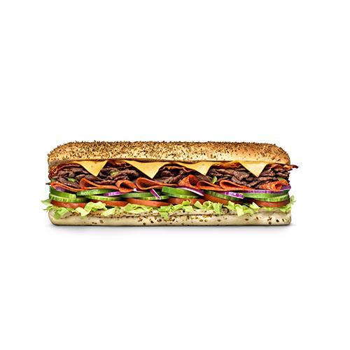 Spicy Steak & Bacon 30cm menu