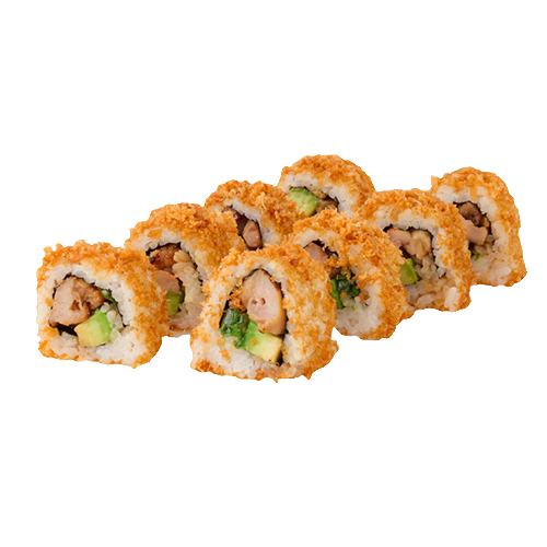 Crispy yakitori