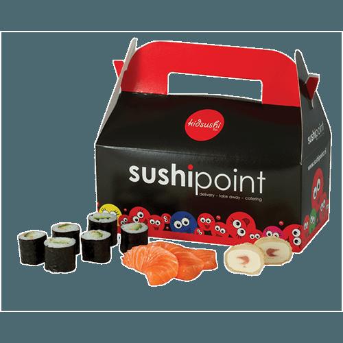 Kidsushi box sashimi