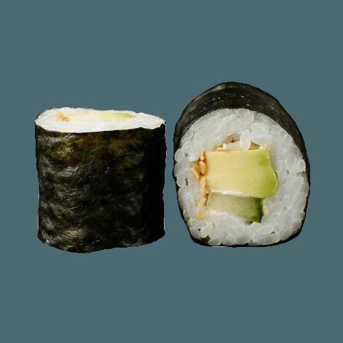 Maki Komkommer en avocado