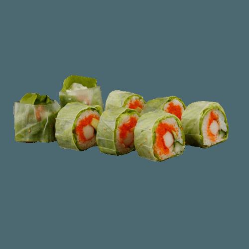 Salad uramaki crab