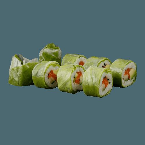 Salad uramaki salmon