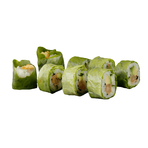Salad uramaki tempura