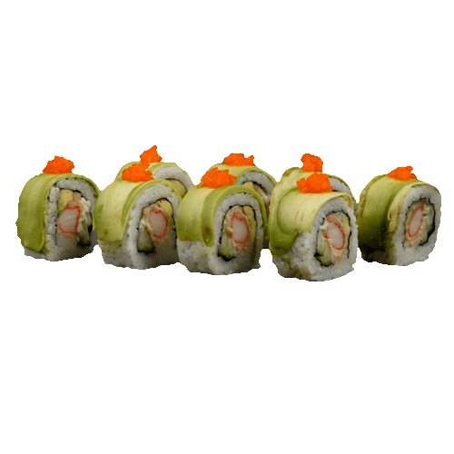 Soft shell rolls Avocado