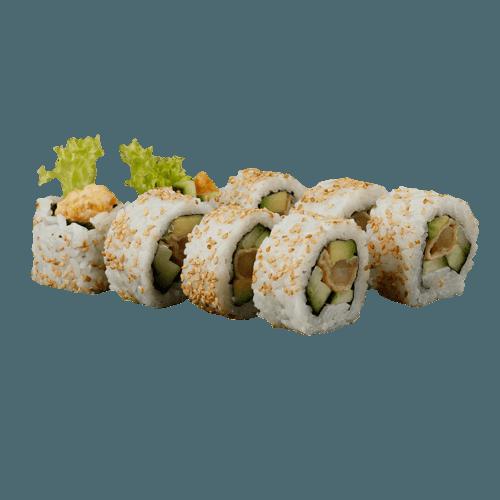 Uramaki tempura ebi