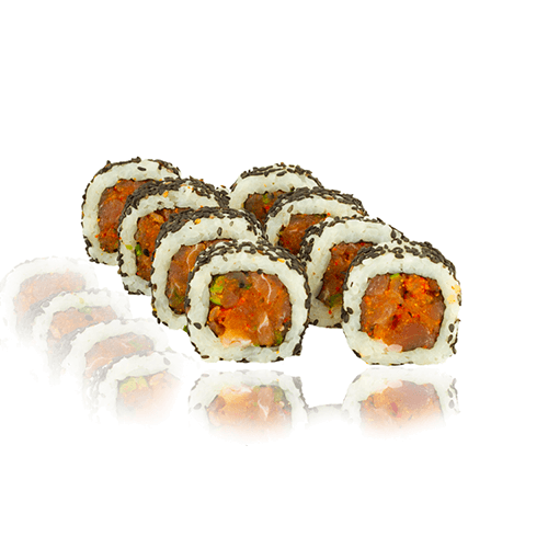 Uramaki spicy tuna