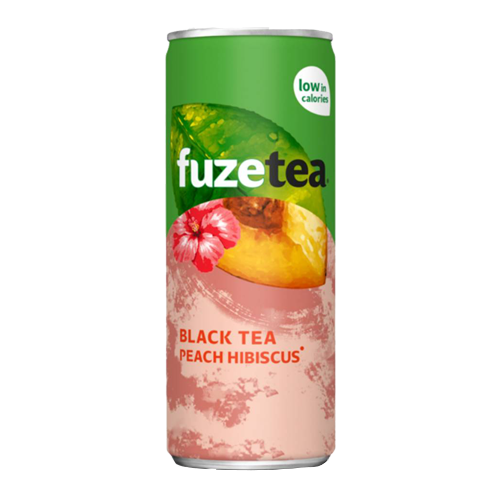 Fuze Tea Black Peach Hybiscus