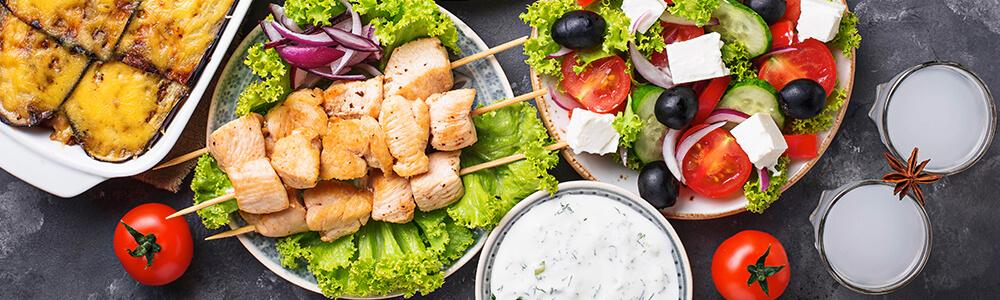 Familie menu's 'het beste van Griekenland'