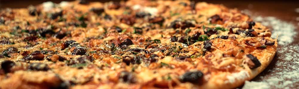 Italiaanse pizza's vegetarisch
