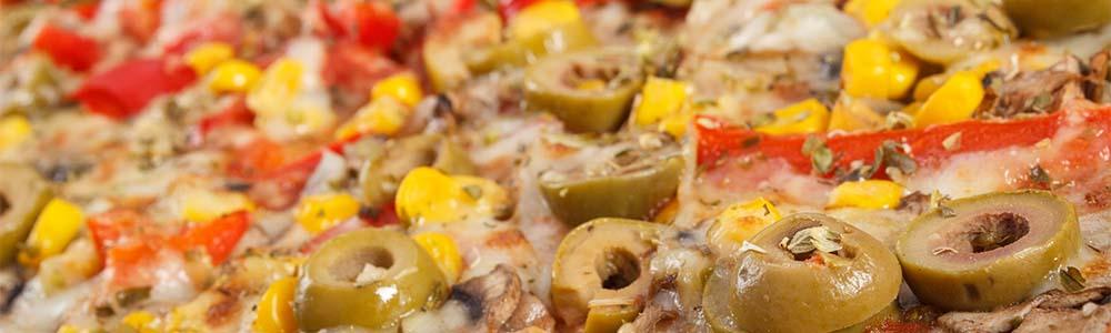 Vegetarische en vegan pizza's