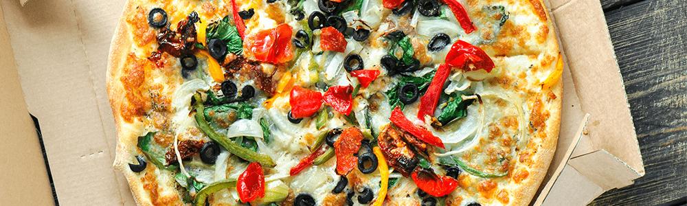 Vegetarische pizza's