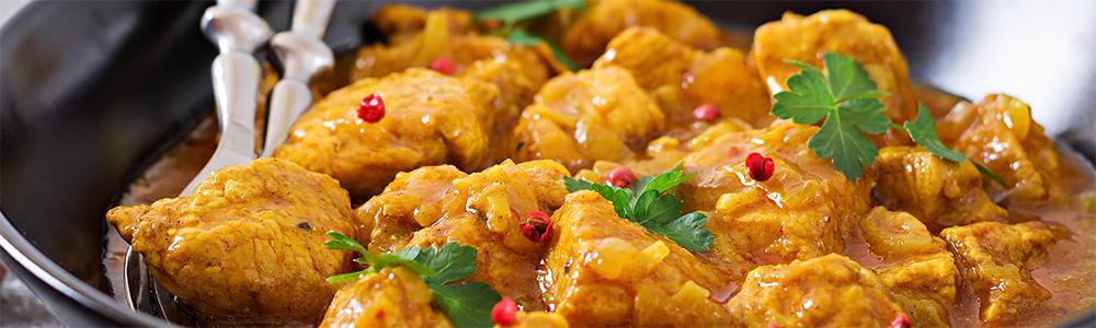 Kip curries specialiteiten