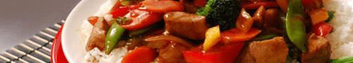 Chinese bami gerechten