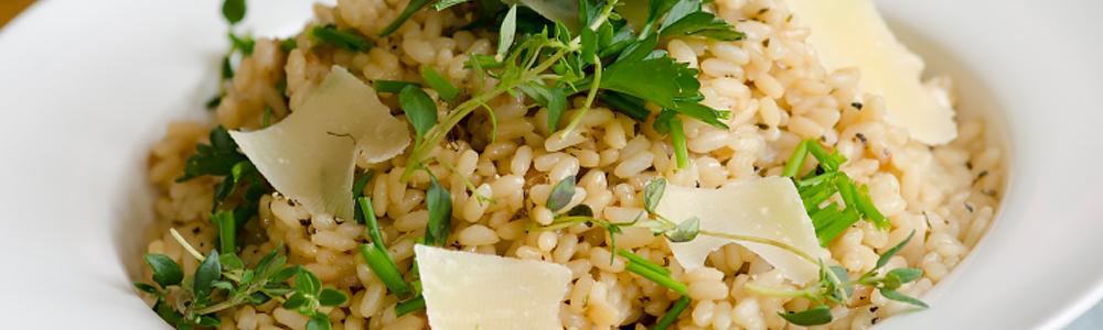 Italiaanse rijstgerechten