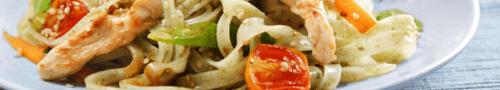 Nasi of bami gerechten
