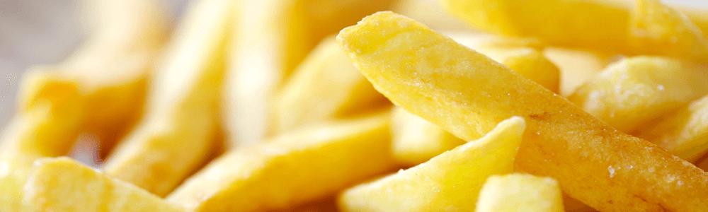 Bakjes patat normaal