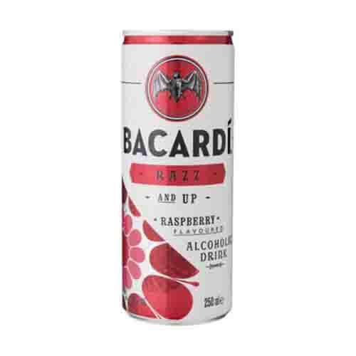 Blikje Bacardi razz