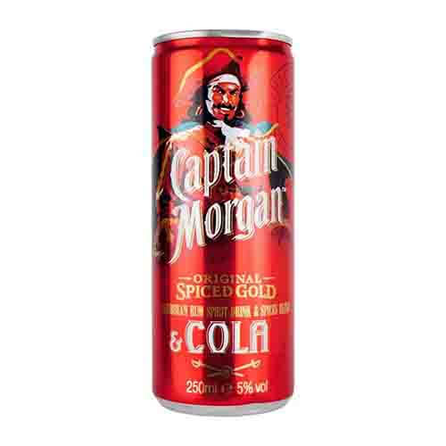 Captain Morgan Cola Mix