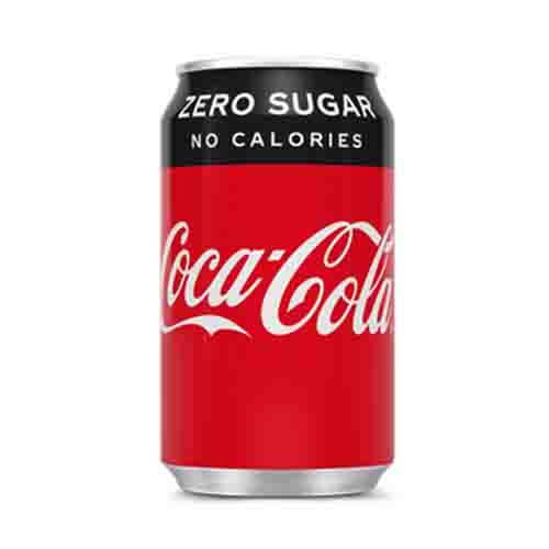Coca-Cola zero (blikje)
