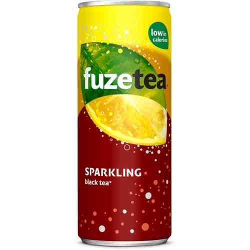 FuzeTea Black Tea Sprankling Lemon