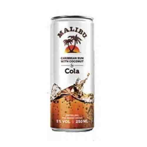 Blikje Malibu Cola