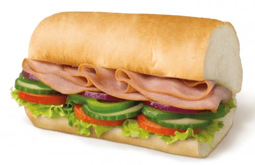 Ham 30cm menu
