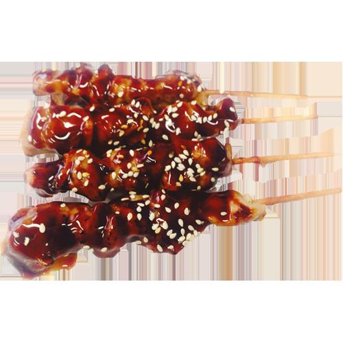 Kipsaté yakitori (4 stuks)