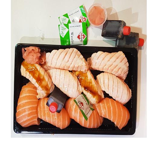 Box 10 Nigiri Sake Box