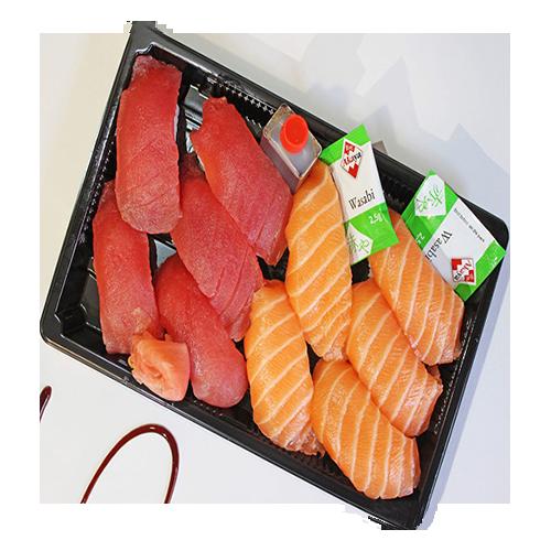 Box 11 Nigiri Sake + Maguro Box