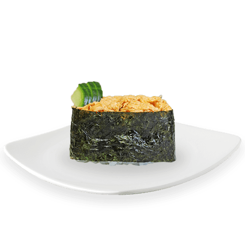 Gunkan spicy sake