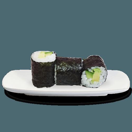 Hosomaki Komkommer + Avocado 3 stuks