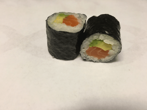 Hosomaki sake + avocado 3 stuks