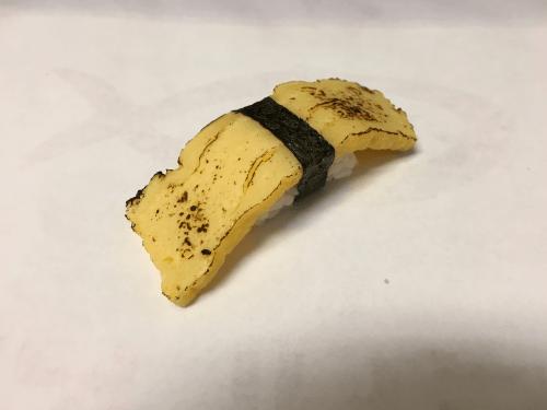Nigiri flamed tamago