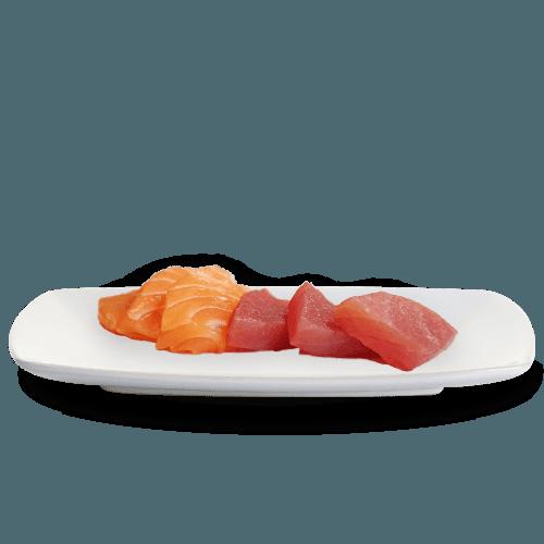Sashimi sake + maguro
